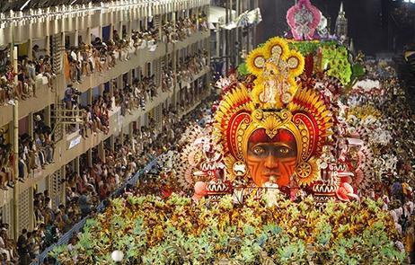 Carnaval de Rio, au Brésil