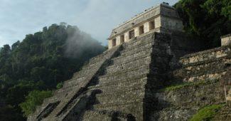 temple au Mexique
