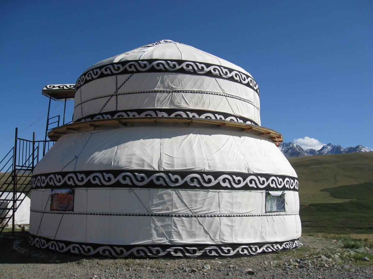 Yourtes-Kirghizistan