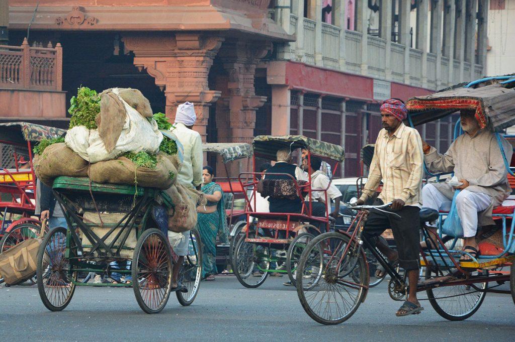 rues de Delhi - Rajasthan - Inde © Audrey Rossignol
