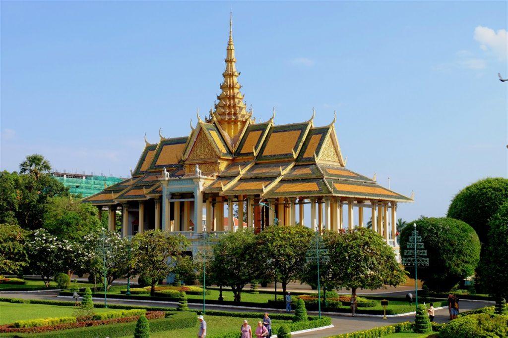 Pavillon du Clair de Lune - Palais royal - Phnom Penh - Cambodge © Marlène Genet