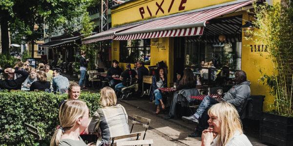 Meilleurs restaurants et cafés de Copenhague avec repas en plein air