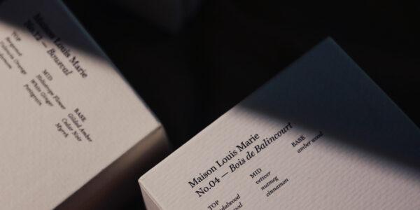 Emballage minimaliste que nous aimons : Maison Louise Marie